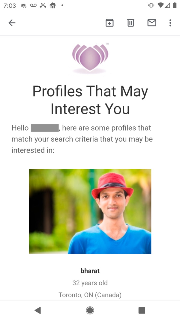 Profiles That May Interest You Mailing on mobile