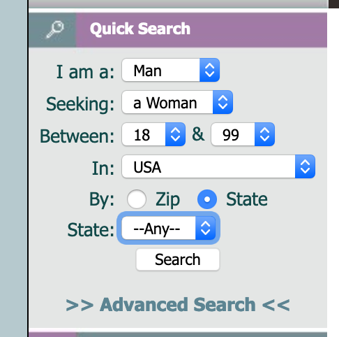 New Quick Search - Entire USA